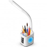 Gerintech LED Desk Lamp with Pen Holder and USB Charging Port, 3 Brightness Levels